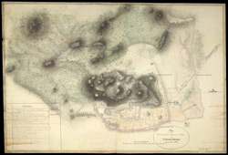Plan of the Fort, Chitaldrug (Mysore). June 1800